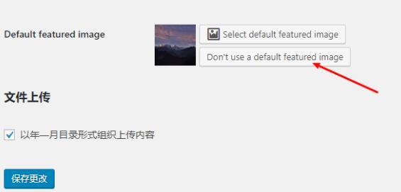 Default Featured Image 为WordPress添加一张默认的特色图片