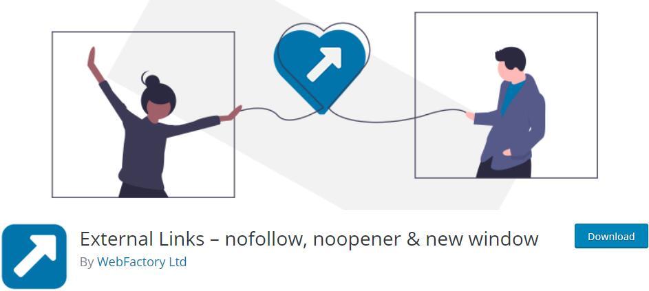 "WordPress自动为站外链接添加""nofollow插件WP External Links"