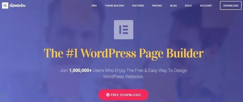 WordPress最好用的页面构建插件 Elementor