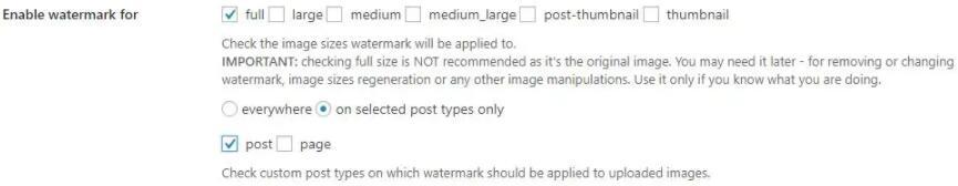 image watermark指定类型图片加水印