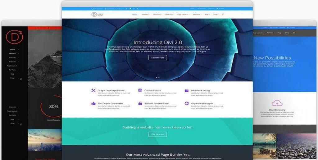 wordpress主题Divi 4.0.5 十分强大的智能多用途主题 免费下载