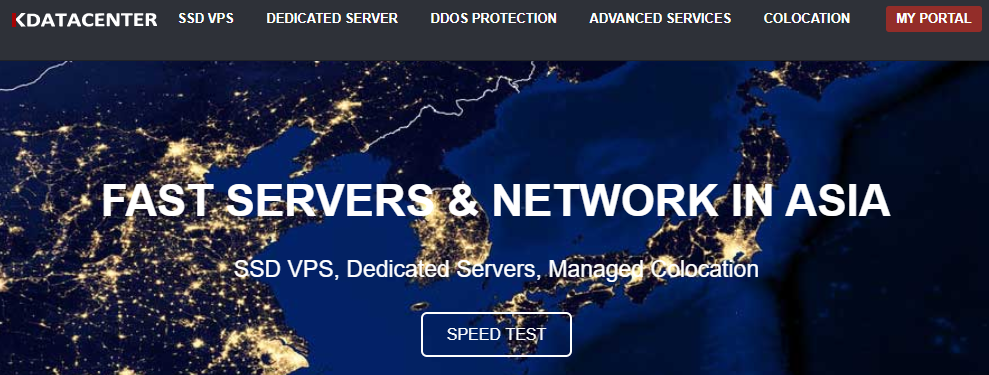 KDataCenter韩国独立SK服务器 免费获取8折优惠码