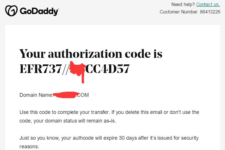 Godaddy域名转移迁出到Namesilo域名商(图文教程)